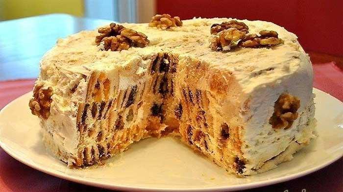 Как сделать торт трухлявый пень