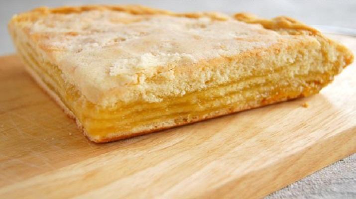 Слоеный лимонный пирог рецепт пошагово