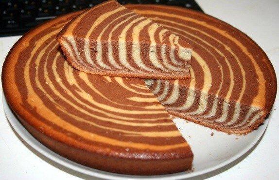 Бисквит зебра рецепт с фото пошагово в домашних условиях 177