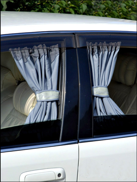 Как сшить шторки в автомобиль