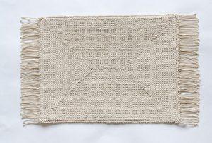 Вязание ковриков крючком по канве 40