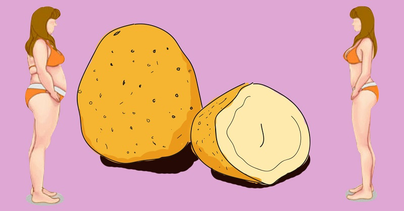 похудение с помощью картофеля
