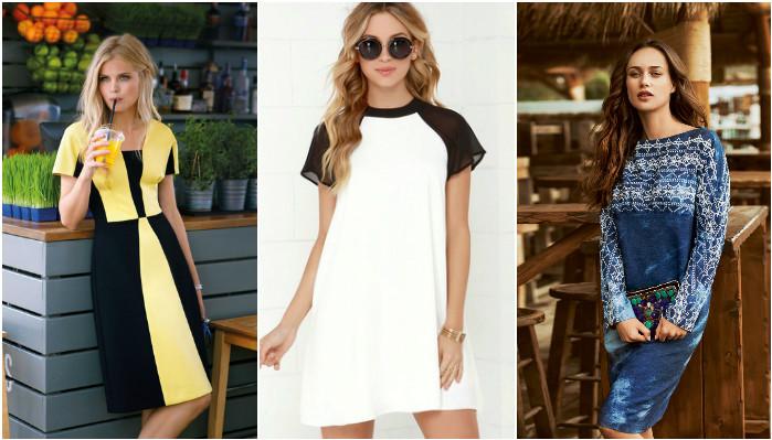 728efa96a19e99b Модный тренд 2017 — платья с рукавом реглан: 22 стильных образа – В РИТМІ  ЖИТТЯ