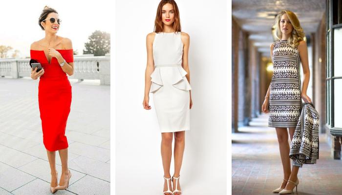 beafa99c6a3 Выбираем платье-футляр Стильные образы 2019 года – В РИТМІ ЖИТТЯ