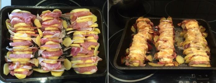 Блюда из свиного карбоната в духовке рецепты