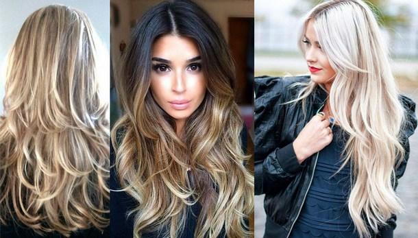 Мода на 2018 год волосы фото