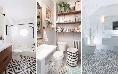 плитку для маленькой ванной